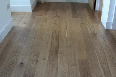 Wood flooring installation in Stevenage