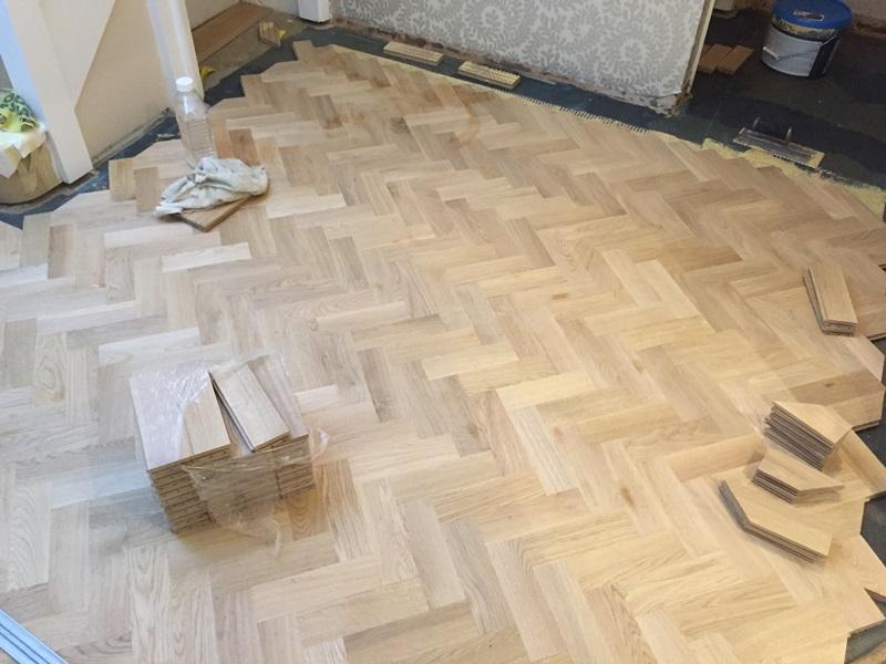 Parquet flooring installers in East Herts
